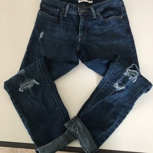 Levis 771 skinny jeans size 27""